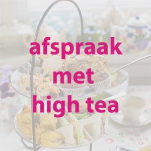 afspraak met high tea