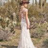 Lilian West - Boho trouwjurk - flare trouwjurk